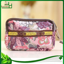 promotional fashional 2015 fancy funny coin purse / contents travel cosmetic bag