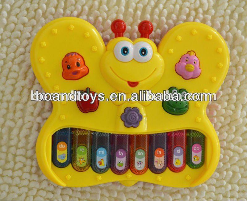 電子オルガンのおもちゃ蝶