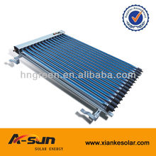 TOP 10 solar collector company in Haining produce vaccum tube Heat pipe solar collector