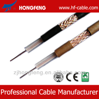Outdoor 18awg burial colored cable rg6