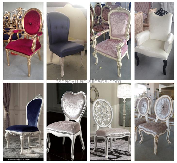 Fournir de luxe italien classique chaise salon chambre chaise chaises antiqu - Salon de luxe italien ...