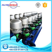 Full automatic disc water filter automatic washing machine for industrial water tre FC4AK5 high purity
