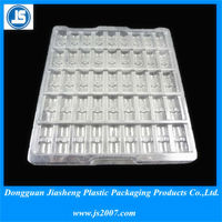 Dongguan Plastic / CPET Disposable White Biodegradable Food Trays Supplier