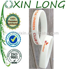 brand silicone bracelets company promotional gifts