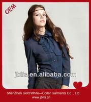 2012 latest fashion lady blouse