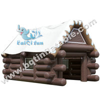 Attractive and cheap inflatable house tent for kids