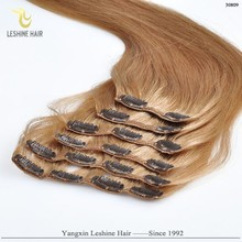 Ali Gold Supplier Hot Sale Excellent Quality Good Price curly blonde 60 clip in remy human hair