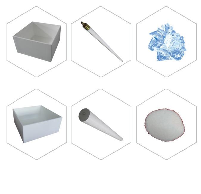 1040 1040 480mm Quartz Ceramic Crucible And More Size For
