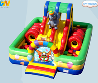 Top level Best-Selling Giant Inflatable City Playground, Inflatable Fun City For Sale