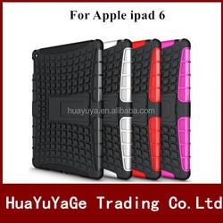Hybird TPU&PC Kickstand Combo phone cases cover for Apple ipad 6 ipad air2