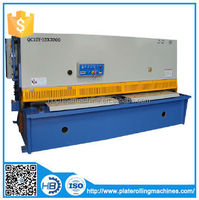 cnc HB BRAND QC12Y-60X5000 Hydraulic Swing Beam Shear,hydraulic guillotine shearing machine 4x2500,iron bar cutter
