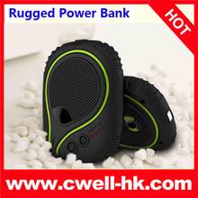 2015 new IP65 waterproof, shock-proof, dust-proof, SOS torch mobile phone Power Bank Powerstone R800 7800mah powerbank
