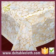 elegant leaf pvc table cloth;Classic Tablecloth