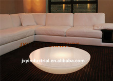 bar decortion rechargeable RGB led table furniture PE material remote, table led draw