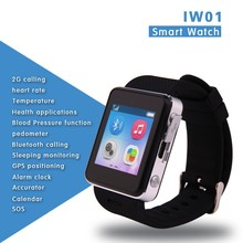 2015 top smart watch Heart Rate+Blood Pressure+Temperature+Sleep Monitoring+SiM+GPS+SOS smart watch phone 2015