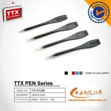 Newest Wholesale promotion plastic erasable ball point pen