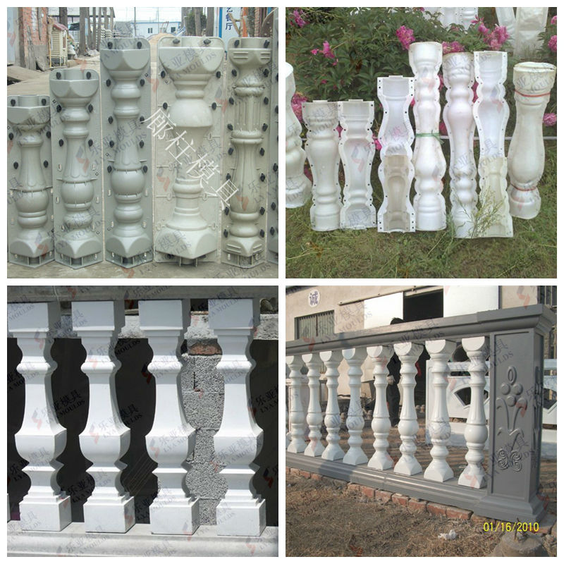 how to make concrete roman columns