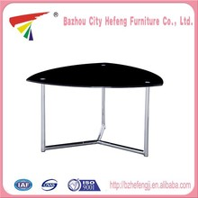 Wholesale products glass and brass coffee table