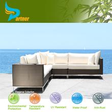 2015 New Design Wholesale Rattan Comfortable Cheap L Shaped Living Room Sofa