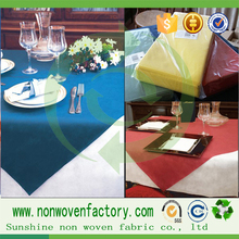 Hot new products fabric printing for 2015 wholesale paint non woven tablecloth