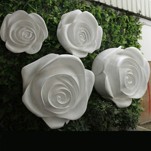 Latest creative colorful fibreglass gate flower wedding decoration