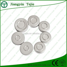 20mm aluminum Flip off top covers for medical bottle