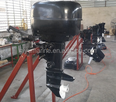 china high quality used 4 to 2 stroke gasoline outboard motor