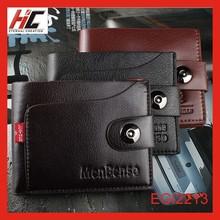 2015 explosion model magnetic buckle fold men's wallet genuine leather wallet low price wholesale