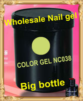 NC-S001 Yiwu Liancai Wholesale High quailty Nail product soak off unhas de LED gel nail polish 1kg nail art UV gell