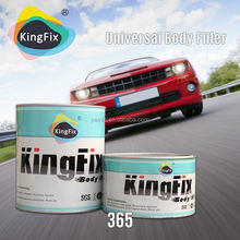 Guangdong red hardener low smell coatings car body filler