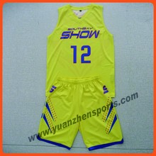 sublimation printing dri fit basketball uniforms custom made as your design good quality
