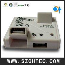 4port usb hub from shenzhen factory