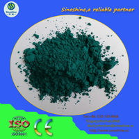 Ceramic pigment enamel pigment glazed pigment:peacock green