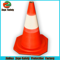 Zoyo-Safety Factory Wholesale Road Leader Adjustable Reflective PVC Or Cotton mini ice cream cone