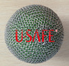ring mesh dog catching protection ball covers