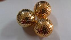 High Quality Metallic Golf Ball Funny Golf Ball Colourful Electroplated Ball