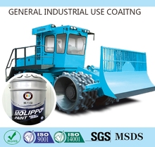 Epoxy paint coatings for agricultural machinery