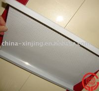 Metal interior decoration wall panel shingle
