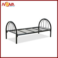 cheap adult single metal bed in living room furniture