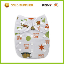 Hot Sale Cool One Size Pocket Diaper with Insert for Thanksgiving