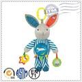 De calidad superior los niños conejo de la felpa del juguete del bebé