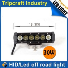 Auto Accessories 30W LED DRIVING LIGHT BAR for Offroad 4X4 , car TC-018-30W