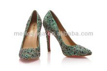Empresa comercial Merlogaga moda mujer zapatos tacón alto