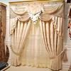 Luxurious european style curtains turkey curtain designs