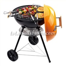 "Easy to assemble and disassemble,17"" BBQ GRILL"