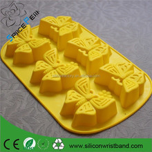 New Butterfly Silicone Cake Baking Pan Silicon Jelly Candy Mould Cupcake Tray