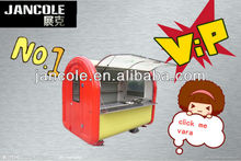 2014 new cart JC-2230 world best Custom New type Electro-tricycle Mobile Food Cart sanck/milk
