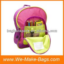 Waterproof new design backpack school for girls