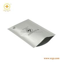 Heat sealable dry shielding pouch bag, zip lock aluminum foil pouch