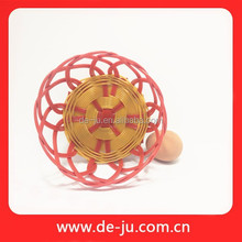 Promotion PE Pipe Handmade Orange Red Color 20cm Rattan Grey Baskets